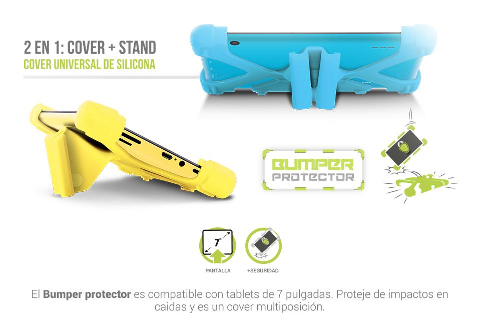 Protector de Silicona 7 pulgadas